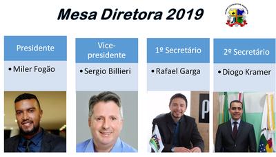 Mesa Diretora 2019