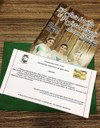 Convite Oficial da 12º Festa da Gila e 5º Festa do Queijo Artesanal Serrano protocolado na Câmara de Vereadores.