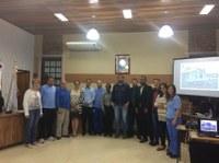 Gerente e funcionários da CORSAN participam de Sessão Ordinária do dia 20/03/2017