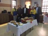 Governadora do Lions Clube visita Câmara de Bom Jesus